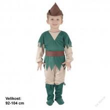 Dětský karnevalový kostým ROBIN HOOD 92 - 104cm ( 3 - 4 roky )